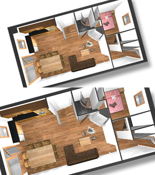 plan appartement val thorens