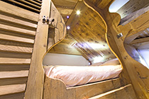 Chalet decoration design et luxe - location pied pistes Val Thorens